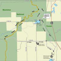 Birch Grove Trail Map