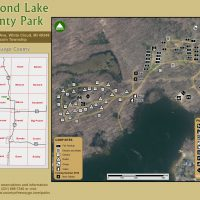 Diamond Lake County Park Map